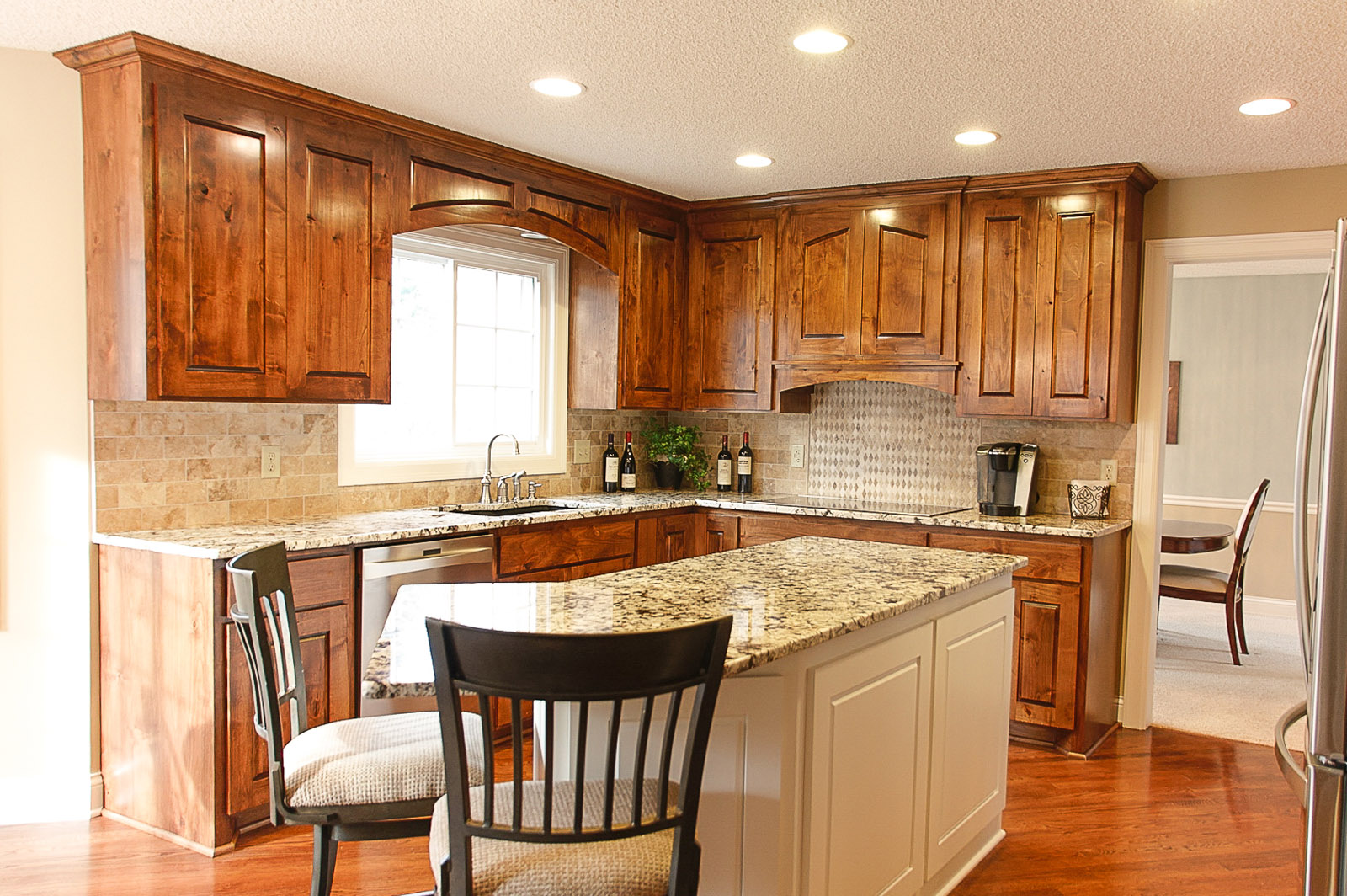 kitchen remodel coon rapids mn franklin builders