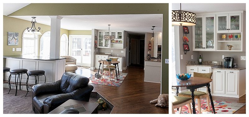 Bright and inviting, this spacious Ramsey, MN rambler was updated with dining and entertaining in mind.