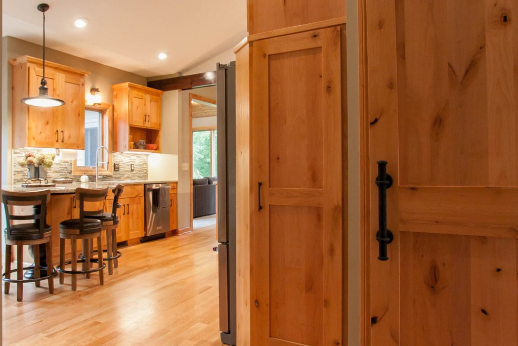 Ramsey Minnesota Kitchen Remodel Twin Cities Anoka County Barn Door Pantry