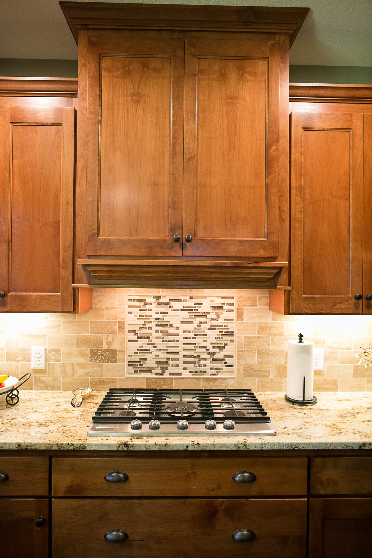New Home Construction Ramsey MN Custom Cabinetry Kitchen Cabinets